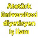 Atatürk üniversitesi diyetisyen iş ilanları