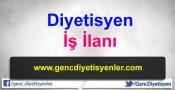 Diyetisyen iş ilanı İzmir