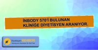 İnbody 570'li kliniğe Diyetisyen ilanı !