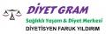Diyet Gram Sağlıklı Yaşam & Diyet Merkezi Diyetisyen Faruk Yıldırım