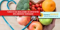 Türkiye'de Beslenme ve Diyetetik Bölümünün Tarihçesi