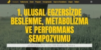 I. Ulusal Egzersizde Beslenme, Metabolizma ve Performans Sempozyumu